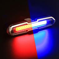 preiswerte Taschenlampen, Laternen & Lichter-Fahrradrücklicht LED Radlichter Radsport Wasserfest, Farbverläufe Wiederaufladbare Li-Ion Batterie 150 lm Wechsel Radsport