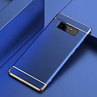 Недорогие Чехлы и кейсы для Galaxy Note 8-Кейс для Назначение SSamsung Galaxy Note 9 / Note 8 Покрытие Кейс на заднюю панель Однотонный Твердый ПК для Note 9 / Note 8