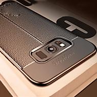 Недорогие Чехлы и кейсы для Galaxy Note-Кейс для Назначение SSamsung Galaxy Note 9 / Note 8 Защита от удара / Рельефный Кейс на заднюю панель Однотонный Мягкий ТПУ для Note 9 / Note 8