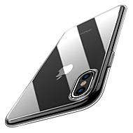 رخيصةأون حافظات أيفون XS Max-غطاء من أجل Apple iPhone XR / iPhone XS Max نحيف جداً / شفاف غطاء خلفي لون سادة ناعم TPU إلى iPhone XS / iPhone XR / iPhone XS Max