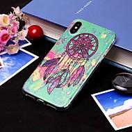 Недорогие Кейсы для iPhone 8 Plus-Кейс для Назначение Apple iPhone XS / iPhone XS Max IMD / Полупрозрачный Кейс на заднюю панель Ловец снов Мягкий ТПУ для iPhone XS / iPhone XR / iPhone XS Max