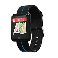 cheap -Indear F5 Smart Bracelet Smartwatch Android iOS Bluetooth Sports Waterproof Heart Rate Monitor Blood Pressure Measurement Pedometer Call Reminder Activity Tracker Sleep Tracker Sedentary Reminder