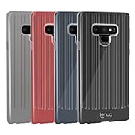 Недорогие Чехлы и кейсы для Galaxy Note-lenuo case for samsung galaxy note 9 противоударные / ультратонкие линии задней обложки / волны мягкие tpu для примечания 9