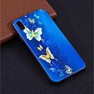 Недорогие Кейсы для iPhone 8-Кейс для Назначение Apple iPhone XR / iPhone XS Max С узором Кейс на заднюю панель Бабочка Мягкий ТПУ для iPhone XS / iPhone XR / iPhone XS Max
