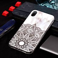 Недорогие Кейсы для iPhone 8 Plus-Кейс для Назначение Apple iPhone XS / iPhone XS Max IMD / С узором Кейс на заднюю панель Мрамор Мягкий ТПУ для iPhone XS / iPhone XR / iPhone XS Max