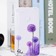 お買い得  携帯電話ケース-ケース 用途 Huawei Honor 7A / Honor 7C(Enjoy 8) クリア / パターン バックカバー タンポポ ソフト TPU のために Huawei Honor 10 / Honor 9 / Huawei Honor 9 Lite