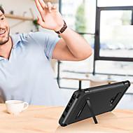 Недорогие Чехлы и кейсы для Galaxy Note-BENTOBEN Кейс для Назначение SSamsung Galaxy Note 9 / Note 8 Защита от удара / со стендом / Покрытие Кейс на заднюю панель Сияние и блеск Твердый Кожа PU / ТПУ / ПК для Note 9 / Note 8 / Note 5