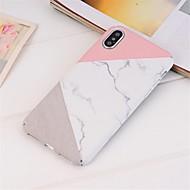 baratos -Capinha Para Apple iPhone XR / iPhone XS Max Estampada Capa traseira Mármore Rígida PC para iPhone XS / iPhone XR / iPhone XS Max