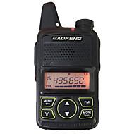 お買い得  -baofeng®bf-t1トランシーバートーキーハンドヘルド3km-5km 20 1 w双方向ラジオ