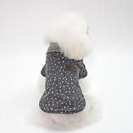 levne -Psi Kabáty Oblečení pro psy Jednoduchý / Bristké Šedá / Růžová Bavlna Kostým Pro domácí mazlíčky Unisex Japan and Korea Style / protažení