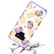 Недорогие Чехлы и кейсы для Galaxy Note-BENTOBEN Кейс для Назначение SSamsung Galaxy Note 9 Защита от удара / С узором Кейс на заднюю панель Фрукты Твердый ТПУ / ПК для Note 9