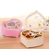 preiswerte Spielzeuge & Spiele-Spieluhr Herz Romantisch Modisch Rotierend lieblich Erwachsene Kinder Geschenk Unisex Geschenk