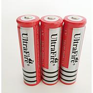 abordables Lampe de Poche-BRC 18650 batterie 4200 mAh 4pcs Rechargeable pour Camping / Randonnée / Spéléologie