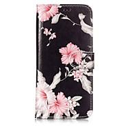 Недорогие Чехлы и кейсы для Galaxy S9 Plus-Кейс для Назначение SSamsung Galaxy S9 / S8 Plus Кошелек / Бумажник для карт / со стендом Чехол Цветы Твердый Кожа PU для S9 / S9 Plus / S8 Plus