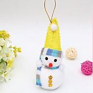 abordables Decoraciones de Celebraciones y Fiestas-Decoraciones de vacaciones Decoraciones Navideñas ornamentos de Navidad Decorativa / Encantador Multicolor 1pc