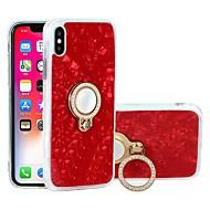 Недорогие Кейсы для iPhone 8-Кейс для Назначение Apple iPhone X / iPhone 6 Защита от удара / Защита от пыли / Защита от влаги Кейс на заднюю панель Мрамор Мягкий ТПУ для iPhone X / iPhone 8 Pluss / iPhone 8