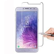 お買い得  Samsung 用スクリーンプロテクター-スクリーンプロテクター のために Samsung Galaxy J4 強化ガラス 1枚 スクリーンプロテクター ハイディフィニション(HD) / 硬度9H / 2.5Dラウンドカットエッジ