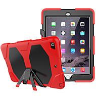 abordables Accesorios de iPad-Cooho Funda Para Apple iPad (2017) / iPad Pro 9.7 Antigolpes / Antipolvo / Resistente al Agua Funda de Cuerpo Entero Color Camuflaje / Armadura Dura ordenador personal / Gel de sílice para iPad Mini