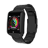 お買い得  -Indear M39 男性 スマートブレスレット Android iOS ブルートゥース スポーツ 防水 心拍計 血圧測定 タッチスクリーン 歩数計 着信通知 アクティビティトラッカー 睡眠サイクル計測器 座りがちなリマインダー / 目覚まし時計