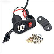 お買い得  -LOSSMANN 車載充電器 USB充電器 USB マルチシュッ力 / 標準 USBポート×2 3.1 A DC 12V-24V のために ユニバーサル