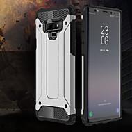 Недорогие Чехлы и кейсы для Galaxy Note-Кейс для Назначение SSamsung Galaxy Note 9 Защита от удара Кейс на заднюю панель броня Твердый ПК для Note 9
