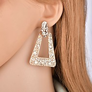 cheap -Women's Retro Drop Earrings Earrings Ladies Geometric Fashion Oversized Jewelry Gold For Party Ceremony 1 Pair