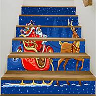 billige -Dekorative Mur Klistermærker - Holiday Wall Stickers Jul Udendørs / Kontor