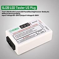 gj2b spænding led lcd tv skærm baggrundsbelysning zener diode tester meter lampe stribe perle lys bord test værktøj udgang 0260v us plug