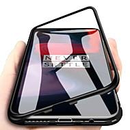 お買い得  携帯電話ケース-ケース 用途 Xiaomi Mi 8 / Mi 8 SE 耐衝撃 / 磁石バックル バックカバー ソリッド ハード メタル のために Xiaomi Mi 8 / Xiaomi Mi 8 SE
