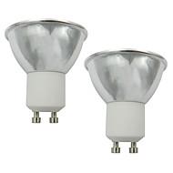 お買い得  LED スポットライト-2pcs 3.5 W 250-270 lm GU10 LEDスポットライト 1 LEDビーズ COB 温白色 / クールホワイト 220-240 V / 110-120 V