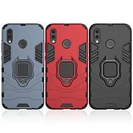 abordables -Coque Pour Huawei P20 lite Antichoc / Anneau de Maintien Coque Couleur Pleine / Armure Dur PC pour Huawei P20 lite