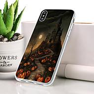billige -Etui Til Apple iPhone XR Støvsikker / Ultratyndt / Mønster Bagcover Dødningehoveder Blødt TPU for iPhone XR