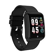 billige -Smart Armbånd Indear-M39 for Android iOS Bluetooth Sport Vandtæt Pulsmåler Blodtryksmåling Touch-skærm Skridtæller Samtalepåmindelse Aktivitetstracker Sleeptracker