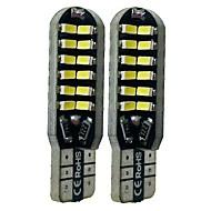 billiga -SENCART 2pcs T10 Bilar Glödlampor 6 W SMD 3014 360 lm 48 LED innerbelysningen Till General Motors Alla år