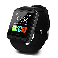 cheap -U8 Smartwatch Android iOS Bluetooth Sports Touch Screen Calories Burned Temperature Display Activity Tracker Alarm Clock / Hands-Free Calls / Media Control / Message Control