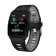 billige -Smart Armbånd Indear-R17 for Android iOS Bluetooth Sport Vandtæt Pulsmåler Blodtryksmåling Touch-skærm Skridtæller Samtalepåmindelse Aktivitetstracker Sleeptracker
