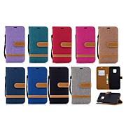 preiswerte Handyhüllen-Hülle Für Huawei Huawei Mate 20 Lite / Huawei Mate 20 Pro Geldbeutel / Kreditkartenfächer / mit Halterung Ganzkörper-Gehäuse Anwendung Hart Textil für Mate 10 / Mate 10 lite / Huawei Mate 20 lite