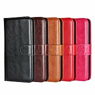 cheap -Case For Apple iPhone 8 Plus / iPhone XS / iPhone XR Wallet / Shockproof / with Stand Full Body Cases Solid Colored Hard PU Leather for iPhone XS / iPhone XR / iPhone XS Max