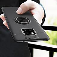 お買い得  携帯電話ケース-ケース 用途 Huawei Huawei Mate 20 Pro / Huawei Mate 20 バンカーリング バックカバー ソリッド ソフト TPU のために Mate 10 / Mate 10 pro / Mate 10 lite / Mate 9 Pro