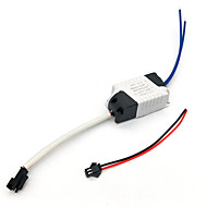 cheap Panel Lights-0.3A 4-7W DC 10-25V to AC 85-265V External Constant Current Power Supply Driver for LED Panel Lamp