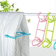お買い得  収納&整理-2ピース毛布キルト多機能乾燥ラックプラスチック洋服ハンガー新しいファッション家庭洗濯服ドライラック