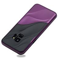 Недорогие Чехлы и кейсы для Galaxy S-Cooho Кейс для Назначение SSamsung Galaxy S9 / S8 Защита от удара / Защита от пыли / Защита от влаги Кейс на заднюю панель Полосы / волосы Мягкий ТПУ для S9 Plus / S8 Plus