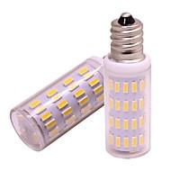 お買い得  LED コーン型電球-2pcs 4 W 360 lm E12 LEDコーン型電球 63 LEDビーズ SMD 4014 新デザイン 温白色 / クールホワイト 12 V