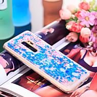 Недорогие Чехлы и кейсы для Galaxy S9-Кейс для Назначение SSamsung Galaxy S9 Защита от удара / Сияние и блеск Кейс на заднюю панель Эйфелева башня / Сияние и блеск Мягкий ТПУ для S9