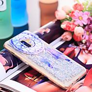Недорогие Чехлы и кейсы для Galaxy А-Кейс для Назначение SSamsung Galaxy A8 Plus 2018 Защита от удара / Сияние и блеск Кейс на заднюю панель Ловец снов / Сияние и блеск Мягкий ТПУ для A8+ 2018