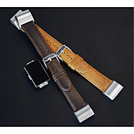 Urrem for Fitbit Charge 3 Fitbit Sportsrem Ægte læder Håndledsrem
