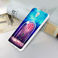お買い得  携帯電話ケース-ケース 用途 ZTE ZTE Blade A510 超薄型 / パターン バックカバー フラワー ソフト TPU のために ZTE Blade A510