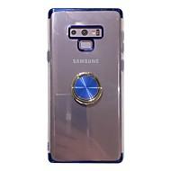 Недорогие Чехлы и кейсы для Galaxy S-Cooho Кейс для Назначение SSamsung Galaxy S9 / S8 Защита от удара / Защита от пыли / Защита от влаги Кейс на заднюю панель Однотонный Мягкий ТПУ для S9 Plus / S8 Plus