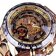 Men's Mechanical Watch Quartz Stainless Steel Black / Gold Hollow Engraving Large Dial Analog Casual Fashion - Gold / Black Black / Silver Black / Rose Gold