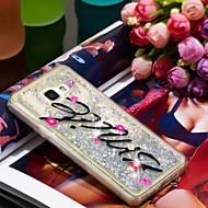 Недорогие Чехлы и кейсы для Galaxy A5(2016)-Кейс для Назначение SSamsung Galaxy A5(2016) Защита от удара / Сияние и блеск Кейс на заднюю панель Сияние и блеск Мягкий ТПУ для A5(2016)